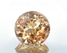 Natural Imperial Topaz 14.17 Cts Rare Gemstone from Katlang, Pakistan
