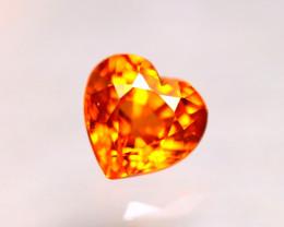Garnet 1.33Ct Natural Vivid Orange Spessartite Garnet D2605/B34