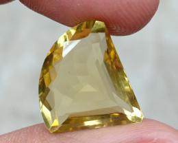 11.65 CT LEMON QUARTZ Top Quality Gemstone Natural Untreated VA923