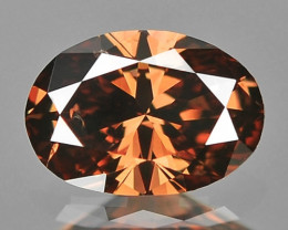 0.21 Cts Untreated Natural Fancy Purplish Brown Color Loose Diamond