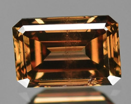 0.32 Cts Untreated Natural Fancy Brown Color Loose Diamond