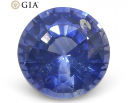 1.17 ct Round Sapphire GIA Certified Sri Lankan