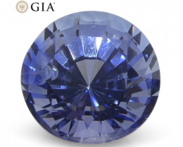 1.16 ct Round Sapphire GIA Certified Sri Lankan