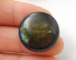 27Ct Natural Labradorite Gemstone Cabochon F506