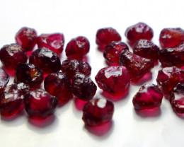 49.45 Cts Natural - Unheated Purple Garnet Rough Lot