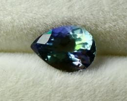 1.30 CT Natural - Unheated Blue Tanzanite Gemstone