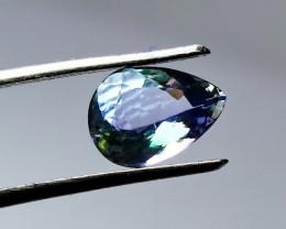 1.05 CT Natural - Unheated Blue Tanzanite Gemstone