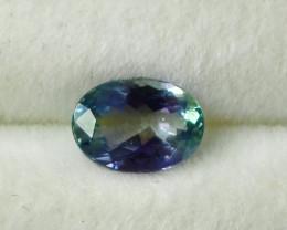 1.25 CT Natural - Unheated Purple Blue Tanzanite Gemstone