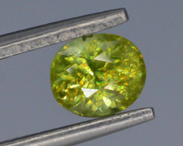 Rare AAA Fire 0.80 ct Sphene ~ A G AQ