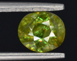 Rare AAA Fire 0.90 ct Sphene ~ A G AQ