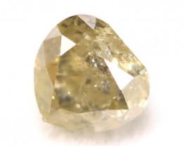 Fancy Green Diamond 0.29Ct Natural Untreated Fancy Diamond C2506