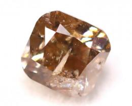 Pink Champagne Diamond 0.27Ct Natural Untreated Fancy Diamond C2508
