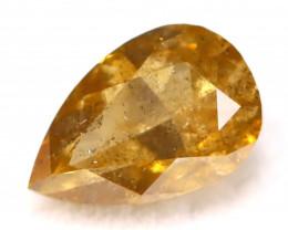 Fancy Orange Diamond 0.39Ct Natural Untreated Fancy Diamond C2509