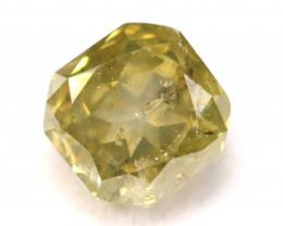 Fancy Green Diamond 0.40Ct Natural Untreated Fancy Diamond C2510