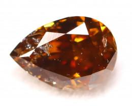 Fancy Cognac Diamond 0.28Ct Natural Untreated Fancy Diamond C2511
