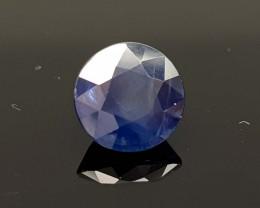 2.25CT NATURAL BLUE SAPPHIRE HEATED  BEST QUALITY GEMSTONE IIGC04