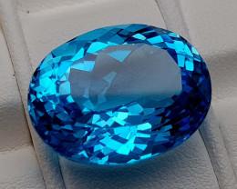 25.35Crt Blue Topaz Natural Gemstones JI104