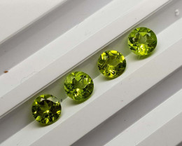 3.35Crt Peridot Calibrated Lot  Natural Gemstones JI104