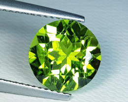 4.00 ct  Breathtaking Gem Round Cut Top Luster Natural Peridot
