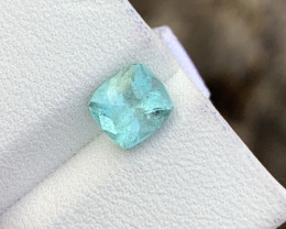 1.20 blue colour Tourmaline Gemstone From Afghanistan