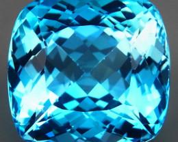 47.96 ct. 100% Natural Top Quality Swiss Blue Topaz Brazil