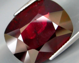 19.55 Ct. Natural Top Red Rhodolite Garnet Africa