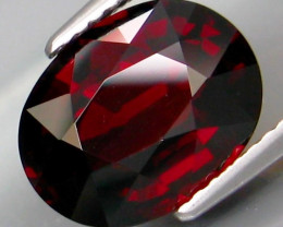 5.07 Ct. 100% Natural Earth Mined Top Red Rhodolite Garnet Africa