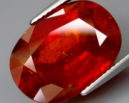 18.11  ct. Natural Earth Mined  Orange Spessartite Garnet Africa
