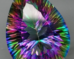 21.18 ct. NATURAL Mystic Quartz Brazil