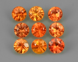 1.45 CTS EXCELLENT NATURAL RARE FANCY -ORANGE MADAGASCAR SAPPHIRE!!!
