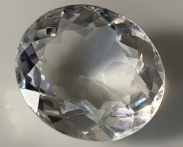 ⭐16.41ct  WHITE QUARTZ GEM - SHINING LUSTER