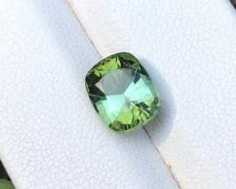 2.40 Ct Natural Greenish Blue Transparent Tourmaline Gemstone