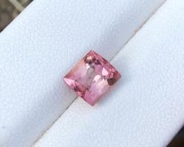 1.90 Ct Natural Pinkish Red  Transparent Ring Size Tourmaline Gemstone