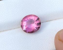 2.80 Ct Natural Pink Transparent Tourmaline Top Quality Gemstone