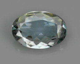 1.30 CTS~AWESOME RARE OVAL NATURAL TANZANITE FACET GEM~