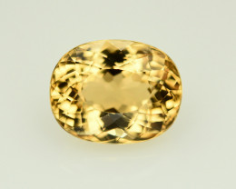 5.70  Ct Natural Stunning  Heliodor ~ AAA Grade ~ Yellow Color