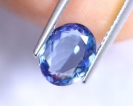2.10cts Natural Violet Blue D Block Tanzanite / RD936