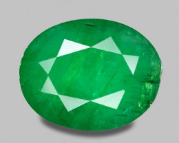 1.80 Cts Natural Earth Mined Green Color Colombian Emerald Gemstone