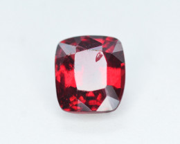 Rarest 0.90 Ct Ravishing Color Natural Red Spinel From Burma - MH