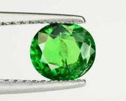 Tsavorite 0.85   Ct Natural Intense Vivid Green Color Tsavorite Garnet