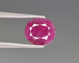 Natural ruby 3.39 Cts Top Quality from Afghanistan