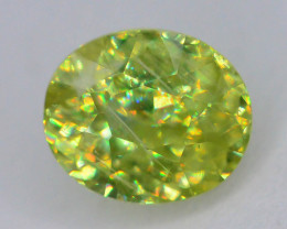 Rare AAA Fire 0.75 ct Sphene ~ A G AQ