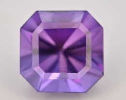 Top Color 6.05 ct AAA Cut Untreated Amethyst~ AS