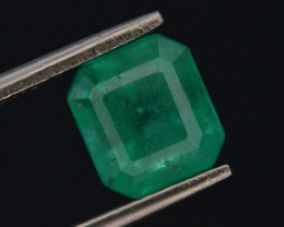 Top Color & Clarity 1.85 ct Colombian Emerald
