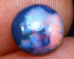 Black Opal 1.41Ct Natural Red Color Play on Black Ridge Opal A2711