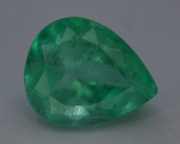 Top Color & Clarity 1.30 ct Colombian Emerald