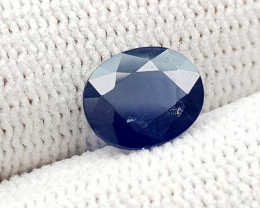 1.55CT NATURAL BLUE SAPPHIRE HEATED  BEST QUALITY GEMSTONE IIGC05