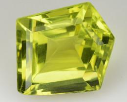 13.10 Ct Natural Lemon Quartz Top Class Fancy Cutting Gemstone. LQ 46