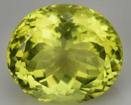 13.54 Ct Natural Lemon Quartz Top Class Fancy Cutting Gemstone. LQ 48