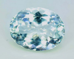 NR ~ 8.15 cts Natural Aquamarine Gemstone